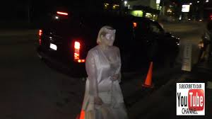 halloween parties in the city hayley hasselhoff outside the just jared halloween party at