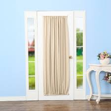 rhf blackout french door curtains door panel 40w by 72l inches