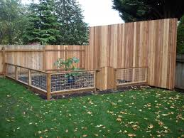 Fence Ideas For Small Backyard by Backyard Fence Ideas For Dogs Full Image For Modern Full Size Of