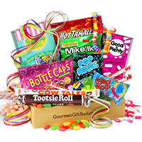 candy basket delivery birthday gift baskets by gourmetgiftbaskets