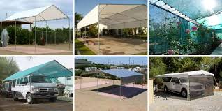 Garage Awning Kit Tarps U0026 Fittings For Portable Garages Carports Tents Canopy Shelters