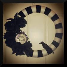 halloween wreath just some broad