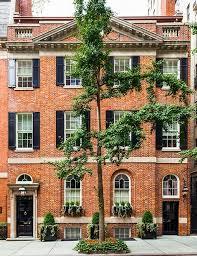 brownstone houses