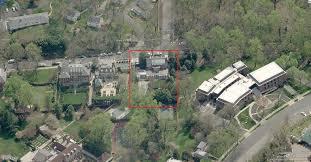 Clinton Estate Chappaqua New York Pro War Clinton Dc Residence Birdseye