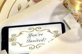 Invitation Card Matter Paperinvite The Benefits Of Digital Vs Traditional Paper Invitations