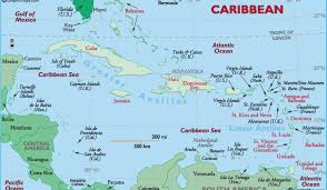 Caribbean Ocean Map by Background On The Caribbean Caribbean Bold