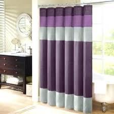 Purple Grey Curtains Grey Bathroom Curtains Juniorderby Me