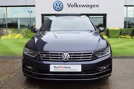 volkswagen passat r line blue used 2017 volkswagen passat 2 0 tdi r line 150 ps dsg estate for