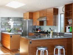 Contemporary Kitchen Cabinets Bamboo Kitchen Cabinets Pictures Ideas U0026 Tips From Hgtv Hgtv