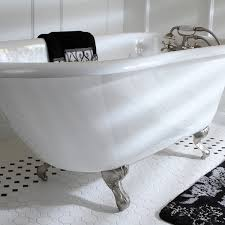 classic roll top 54 inch cast iron clawfoot tub with tub