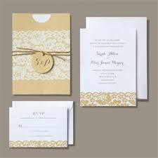 invitation kits brides rustic chic wedding invitation kit superior invitations