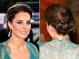 party hair style for aged women fancy bun hairstyles with braids for long dark brown hair cute