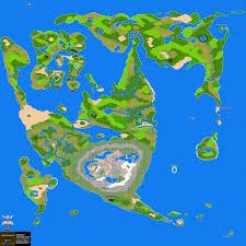 Map Wuest Dragon Warrior Ii Overworld Maps Nes Realm Of Darkness Net