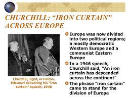 Iron Curtain Speech Nc Goal 10 The Cold War