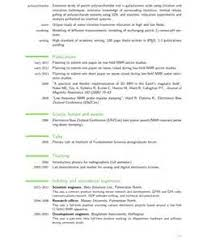academic cv latex template free