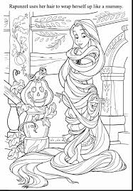 incredible disney tangled coloring pages with rapunzel coloring