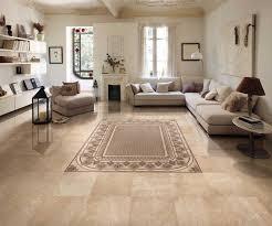 Round Table Granite Bay Ceramic Tiles Living Room Green Microfiber Area Rugs Brick Wall