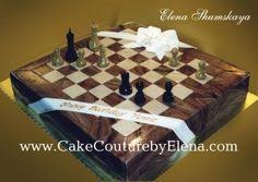 21st birthday chess board cake with edible chocolate pieces http