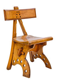 free photo chair oak inlay woodwork free image on