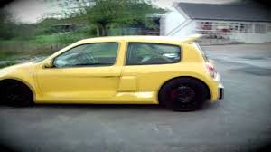renault clio 2002 modified renault clio v6 trophy inspired car youtube