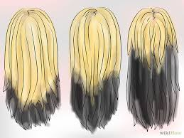 dark hair underneath light on top dye your hair blonde black underneath step medium hair styles