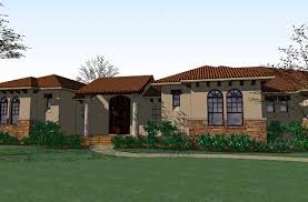 Southwestern Home by Southwestern Style House Plans Plan 61 177