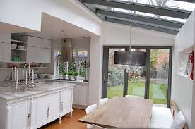 extension kitchen ideas kitchen extension with glass beautiful things side