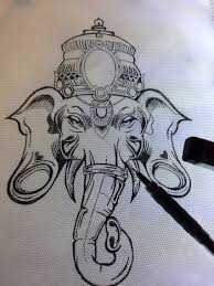 rons ganesh sketch i drew up tattoo ideas pinterest ganesh