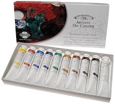 amazon com winsor u0026 newton artists u0027 oil colour introductory set