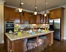Granite Islands Kitchen Kitchen Contemporary Brown Kitchen Island Layouts With Cabinetry