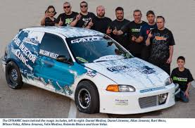 dynamic performance debuts fuel injector clinic car at honda day