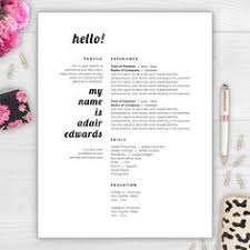 stand out from the competition with this best selling résumé
