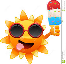 ice cream emoji happy sun character with ice cream illustration 35175629 megapixl