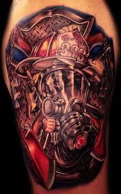 firefighter tattoos designs and ideas wildland