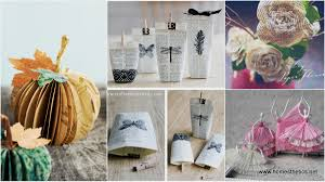 15 creative diy paper crafts tutorials exploding with delicacy and