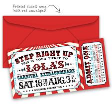 carnival birthday invitations with photo tags carnival birthday