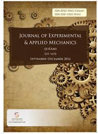 journal of experimental u0026 applied mechanics vol 7 issue 3 by stm