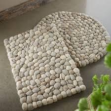 Mini Pebble Wool Jute Rug Rugs U0026 Mats Home Décor Viva Terra Vivaterra