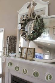 easter mantel decorations the images collection of decorating ideas with tv easy tips for
