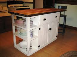 stunning homemade kitchen island plans with custom walnut butcher