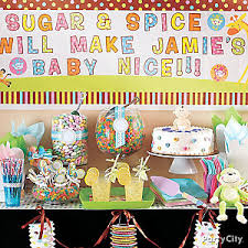 Candy Buffet Table Ideas Baby Shower Candy Buffet Ideas Party City