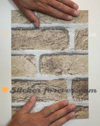 stickers vinyle autocollant mur brique en adh sif mur avec