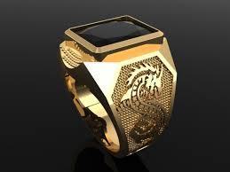 men ring golden men ring 3d model in rings 3dexport