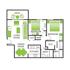 Pictures Of Floor Plans Floor Plans The Treehouse Of Schaumburg Luxury Apartment Living