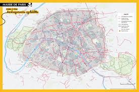 Map Of Paris France 5 Great Bikes Routes In Paris Freewheeling France