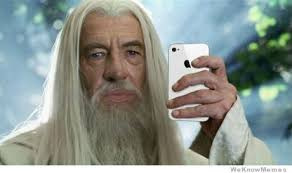 gandalfs new facebook profile picture weknowmemes