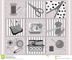 sewing supplies royalty free stock image image 25102336