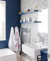 Case Of The Blues  Great Bathroom Design Ideas Real Simple - Great bathroom design