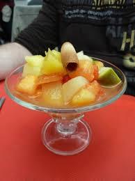 cuisiner le fruit de l arbre à la salade de fruits frais photo de l arbre a pin houlgate