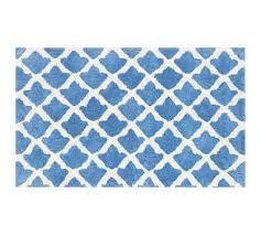 blue bathroom mats interior design